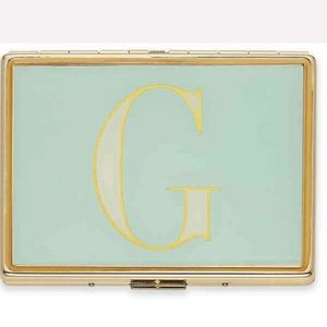 "kate spade it's personal ID holder ""G"""